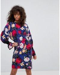 Minimum - Floral Dress - Lyst