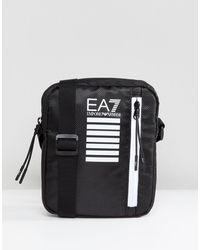 EA7 Черная Сумка Для Полетов С Логотипом -черный - Многоцветный