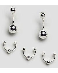 Cheap Monday - Pierced Earring - Lyst