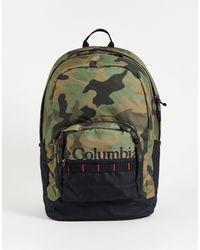 Columbia Зеленый Камуфляжный Рюкзак Zigzag 30l-зеленый Цвет
