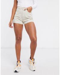Weekday Rowe Organic Cotton Raw-hem Denim Shorts - Multicolor