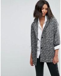 Levi's Spring Cocoon Short Coat - Grey