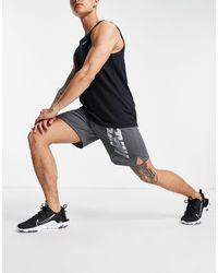 Nike Dri-fit Logo Shorts - Grey