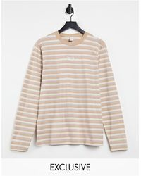 Reebok Classics Toast Striped Long Sleeve T-shirt - Multicolour