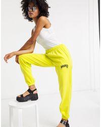 TOPSHOP joggers - Yellow