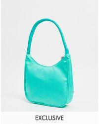 Glamorous Exclusive 90s Shoulder Bag - Green