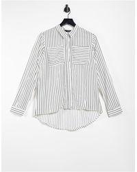 ONLY – Langärmliges Oversize-Hemd - Mehrfarbig