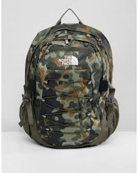 The North Face - Borealis Classic Backpack 29 Litres In Macrofleck Green - Lyst