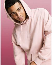 ASOS 4505 Oversized Hoodie - Pink