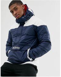Columbia Темно-синяя Куртка - Синий