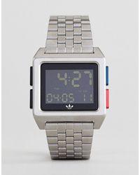 adidas Originals - Adidas Z01 Archive Digital Bracelet Watch - Lyst