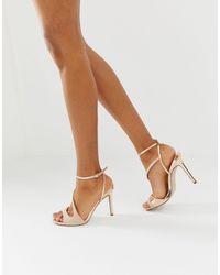 Office Highflyer Heeled Sandals - Natural