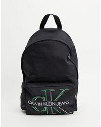 Calvin Klein Черный Рюкзак Glow Campus-черный Цвет