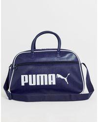 PUMA Campus Retro Holdall - Blue