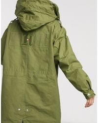 Tommy Hilfiger X Lewis Hamilton Capsule Hooded Parka - Green