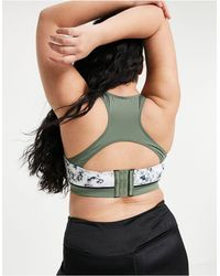 Simply Be Active Sports Bra - Multicolour