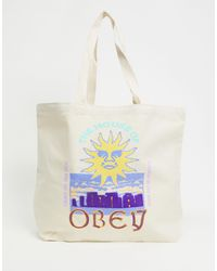 Obey House Of - Tote - Wit