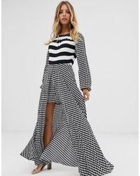 Sass & Bide Stripe Jumpsuit - Black