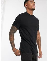 ASOS Organic T-shirt With Crew Neck - Black