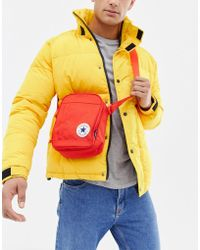 Converse - Chuck Taylor Patch Crossbody Bag In Red - Lyst
