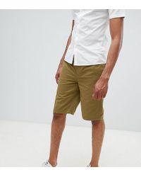 D-Struct - Tall Elastic Waist Shorts - Lyst