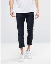 Original Penguin - Penguin Formal Plain Cropped Trousers - Lyst