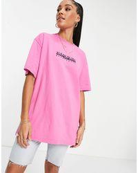Napapijri Box T-shirt - Pink