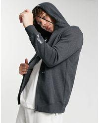 Tom Tailor Zip Hoodie - Black