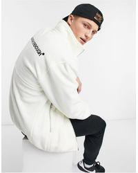 TOPMAN Zip Through Fleece - Multicolour