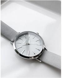 Breda Joule - Petite Horloge Met Grijze Band - Grijs