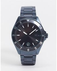 Lacoste Montre bracelet pour homme - marine 2011128 - Bleu