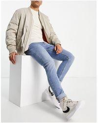 Nudie Jeans Skinny - Lin - Jeans skinny blu orizzonte