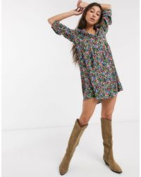 ONLY Mini Shirt Dress - Multicolor
