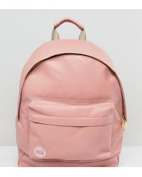 Mi-Pac - Exclusive Classic Tumbled Backpack In Dusty Pink - Lyst