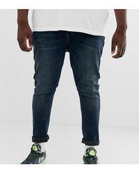 ASOS Superskinny Jeans In Smokey Blauw