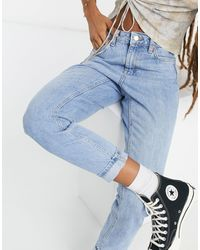 TOPSHOP Mom Jeans - Blue