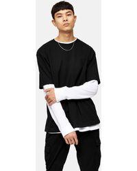 TOPMAN - Oversized T-shirt - Lyst