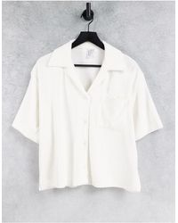 & Other Stories Chemise - Blanc