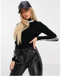 Miss Sixty Darwin Pullover - Black