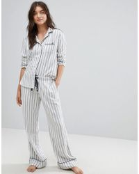 Abercrombie & Fitch | Stripe Pyjama Bottoms | Lyst