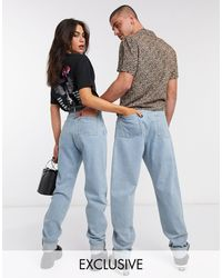 Reclaimed (vintage) Inspired The '83 Unisex Relaxed Jean - Blue