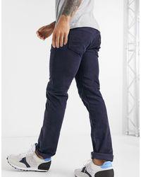 Levi's Slim-fit Corduroy Broek - Blauw