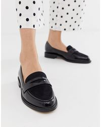 ASOS Mantra - Platte Loafers - Zwart
