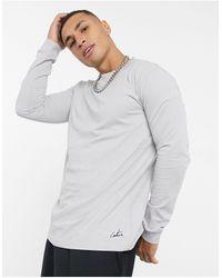 The Couture Club – archive – langärmliges shirt - Grau