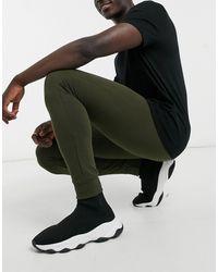 Brave Soul Joggers skinny kaki - Verde