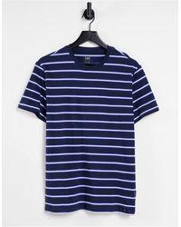 Lee Jeans Stripe T-shirt - Blue