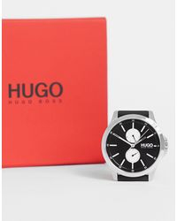 BOSS by Hugo Boss Hugo – Jump – Armbanduhr - Schwarz
