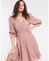 Object – Mini-Nachmittagskleid - Pink