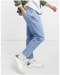 SELECTED Relaxed Crop Jean - Blue