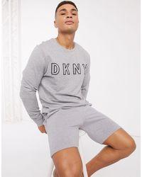 DKNY Camiseta confort gris marga